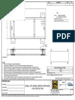 Model CPF Seismic Inertia Pump Base 1 Inch Deflection