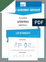 Linguatec Proficiency Certificate