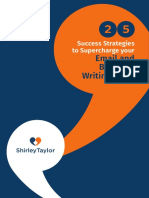 25 Success Strategies-Email Business Writing-Shirley Taylor