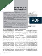 Guía Para La Preparación de Un Módulo Para El Aprendizaje Clínico Intensivo (MACI)