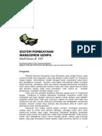 Sistem Pembiayaan Manajemen Gempa