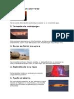 15 fenomenos naturales