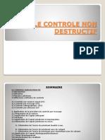 Controle Non Destructif