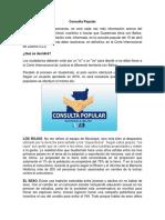 Consulta Popular Guatemala 2018