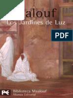 Los Jardines de Luz - Amin Maalouf
