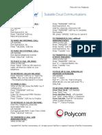 Polycom Key Features June 2015