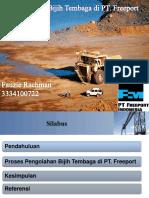 Pengolahan Bijih Tembaga PT.freeport