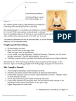 Breathing Exercises - You Can Be Smoke Free - Univeristy of Illinois Extension