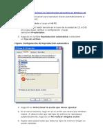 Configuración de Opciones de Reproducción Automática en Windows XP