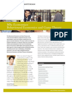 Factsheet Economics BehaviouralEconomics