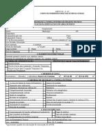 ANEXOB - Formulário