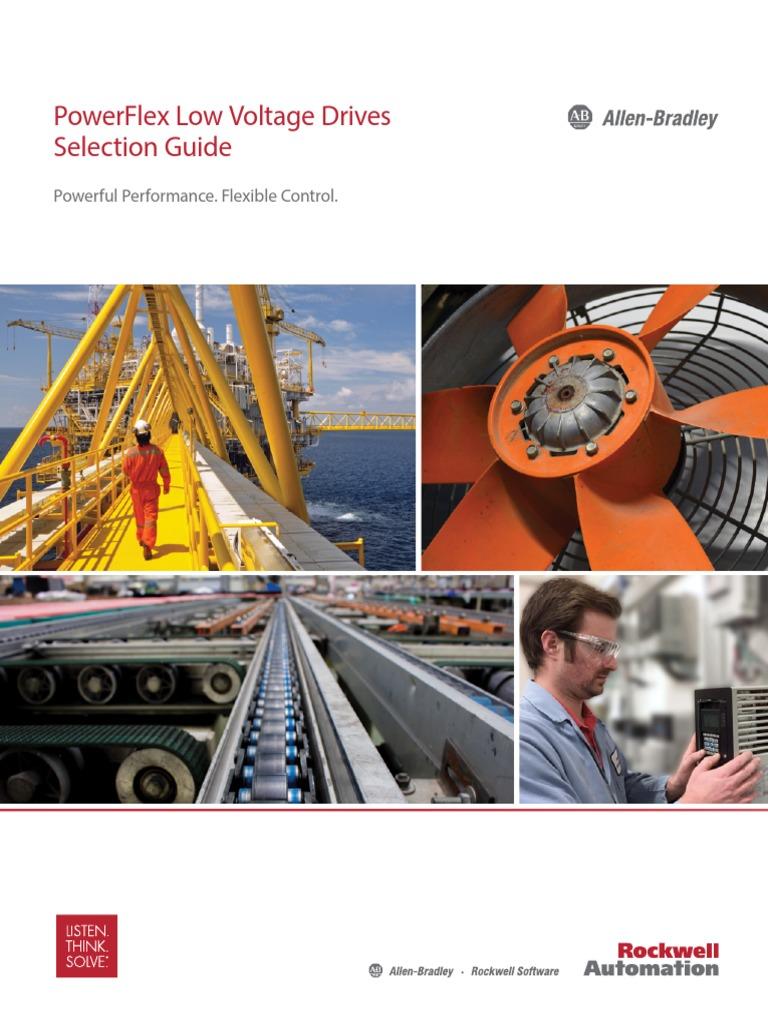 X] Selection Guide - PowerFlex Low Voltage Drives - PFLEX-SG002K-En