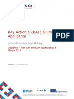 Guide for Applicants Key Action 1 Schools 2015 Version 2
