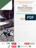 """Bases del coloquio """"Migración"""