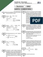 Vestibular Simulado Química - Gabarito Comentado