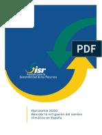 Horizonte 2020. Abordar la Mitigación del Cambio Climático en España.pdf