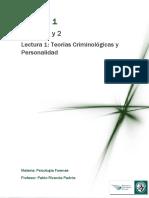 Lectura 1_ Teorías Criminológicas y Personalidad