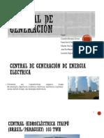 Ints.iii Central de Generacion