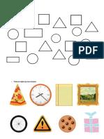 Fichas Geometria Figuras Círculos
