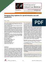 Drug Regimens Special Populations ICU