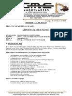 Informe Tecnico # 219, Motor 6M60-T, Mitsubishi