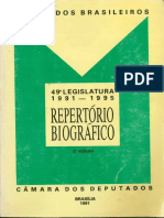 Repertorio Deputados 1991-1995