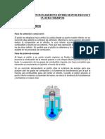 Diferencia Funcionamiento Entre Motor de Dos y Cuatro Tiempos