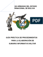 Guia Sumario Informativo Militar (Comanjefe).Docx - Documentos de Google