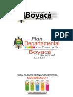 Plan Departamental de Desarrollo 2012 - 2015 Boyacá Se Atreve.pdf