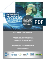 Caderno Resumo COMPLETO Ciencia e Tecnologia e Inovação