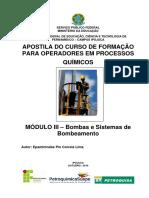 1. Apostila - Equipamentos de Processo - Bombas