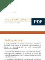 Analisis Horizontal y Vertical 2016