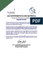 22 Conferencia de Química_Segunda Circular_modificado_incluye Firma Rectora