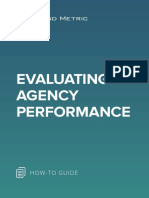 Evaluating Agency Performance