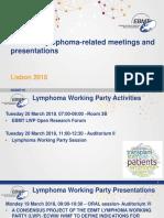 LWP Lymphoma Activities EBMT2018 11march