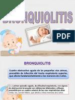 Bronquiolitis en pediatria