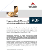 Programm Minus50