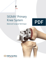 SIGMA Primary Knee System ST