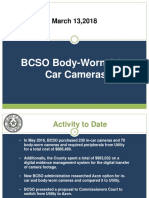 March 13, 2018 Utility vs Axon Body-Worn & In-Car Camera presentation