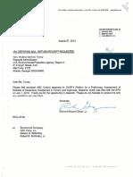 ABC Coke Response to GASP Petition