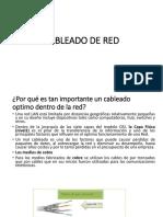 Cableado de Red