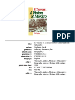 A Vision of Mexico - B. Traven