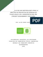 Desarrollo de Una Metodología Bajo El Principio Del PMI (2)