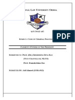 Code of Criminal Procedure Project Work (1)