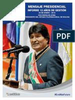 Mensaje Presidencial 2018