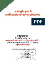 Purificazione Proteine