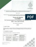 "Torneo de Ajedrez ""La Feria"""
