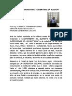 El Agua en Bolivia PDF