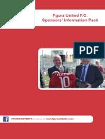 Sponsors Report