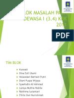 Kuliah Pengantar Blok 3.4 TA 17-18